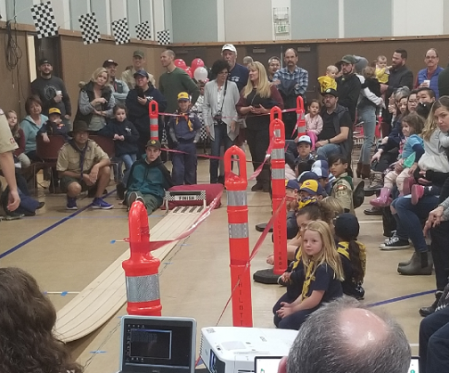 2019 Pinewood Derby Track